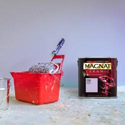 Farba Magnat Ceramic fiołkowy ametyst 2,5 l
