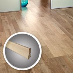 Listwa przypodłogowa drewniana Barlinek 220 cm dąb biały