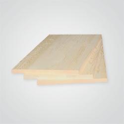 Półka sosnowa bezsęczna 1200 x 400 x 18 mm