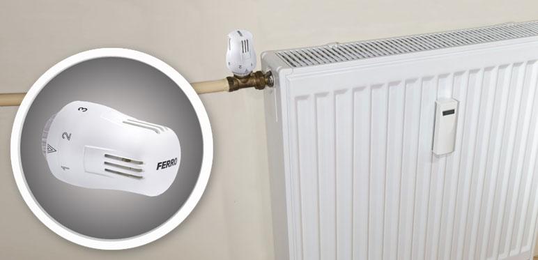Głowica termostatyczna cieczowa Ferro