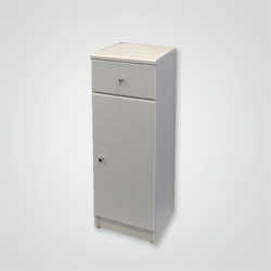 Półsłupek Rumba 30,1 x 84,7 x 33,5 cm biały