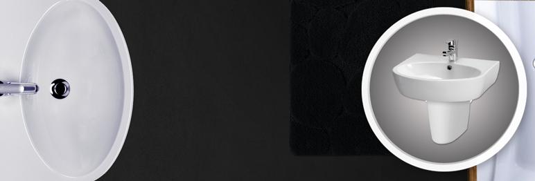 536565 Umywalka Cersanit Parva 60 z odpływem