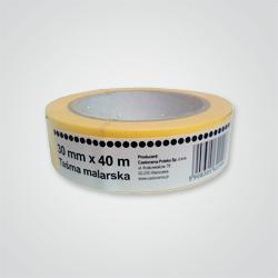 704096 Taśma malarska OPP żółta 40 x 30 mm