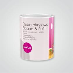 Farba akrylowa Colours Ściana & Sufit 30 0,75 l