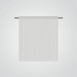 710620 Dekoracja okna spaghetti 200 cm biała
