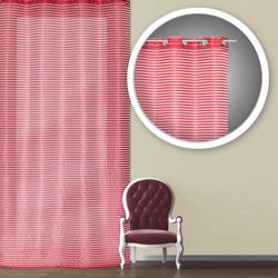 714468 Firana Colours Melody 140 x 245 cm czerwona