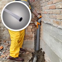 925107 Rura PP z kielichem do kanalizacji wewnetrznej 110 x 2000 mm