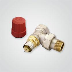 Zawór termostatyczny kątowy Danfoss Ra-n 1/2 cala
