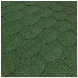 gont bitumiczny zielony