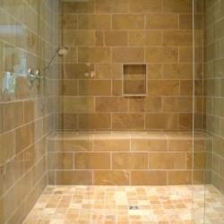 prysznic z odwodnieniem liniowym