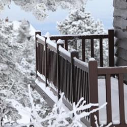 balkon zima