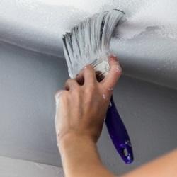 jak pomalować sufit