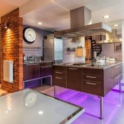 neon w kuchni