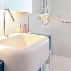 umywalka w stylu japońskim