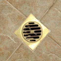 kratka ściekowa, instalacja sanitarna