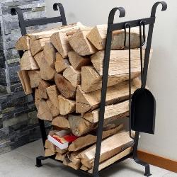 stojak na drewno, opał