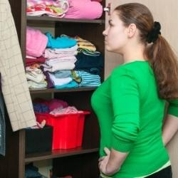 orgaznizacja miejsca w szafie