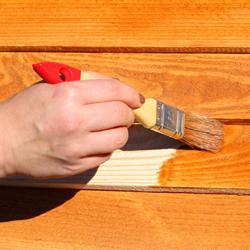 bejcowanie, obróbka drewna