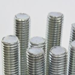 pręt gwintowany srebrny