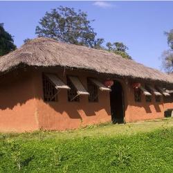 dom z gliny, budowanie