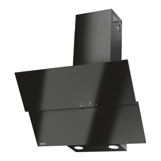 Okap kominowy Maan Bravo Duo 60 cm czarny