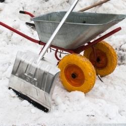 taczka na zimę
