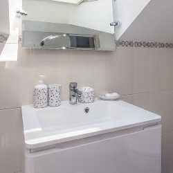 jednolita stylistyka akcesoriów łazienkowych