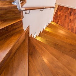 schody w domu góralskim
