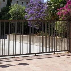 brama wjazdowa z elektrycznym napędem