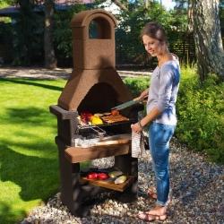 grill ceglany wykonanie