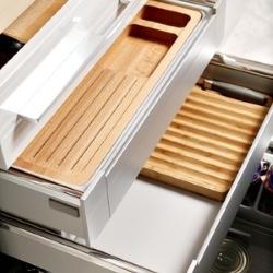 wkłady do szuflad w kuchni