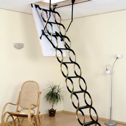 sprężynowe schody strychowe