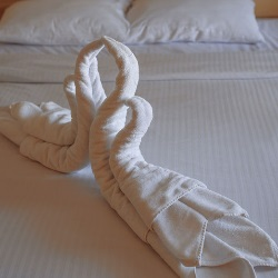 Ozdoba z ręczników