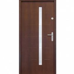 drzwi drewniane zewnętrzne castorama
