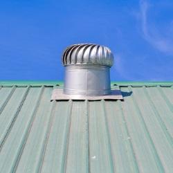 czerpnia powietrza na dachu