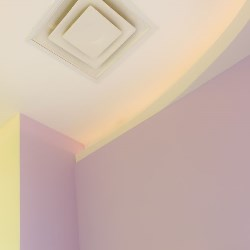 Sufit dekoracja