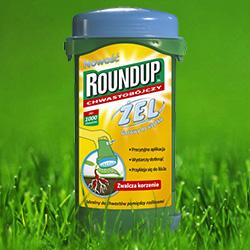 Preparat na chwasty Roundup żel