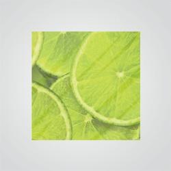 Szkło laminowane 8 mm 60 x 60 cm limonka