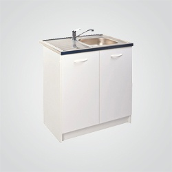 Szafka kuchenna zlewozmywakowa 80 cm biała
