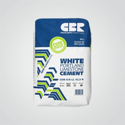 Cement biały CBR 42,5 N 25 kg