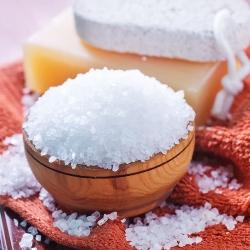 białe mydło