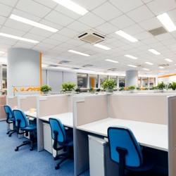 światło naturalne w biurze