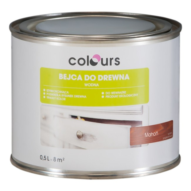 Bejca Colours 0,5 l mahoń