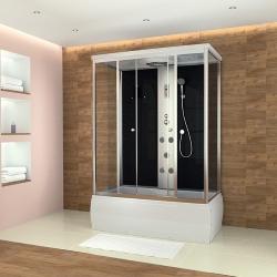 kabina prysznicowa z wanną