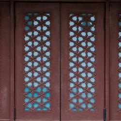 drzwi ażurowe