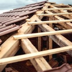 szkielet dachu