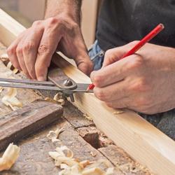 Zestaw ołówków stolarskich Top Tools 177 mm 12 sztuk