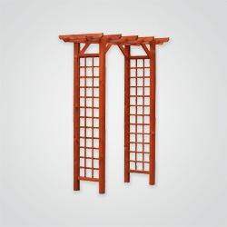 Pergola Wolin 165 x 80 x 215 cm teak