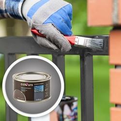 Farba antykorozyjna Colours grafitowa 0,25 l