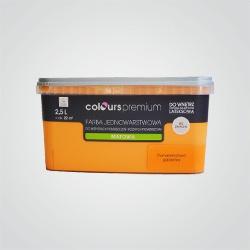 Farba Colours Premium pomarańczowa galaretka 2,5 l